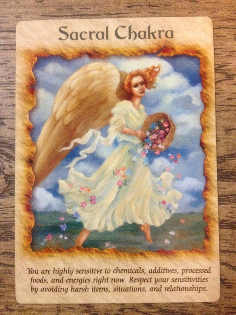 Angel Therapy Oracle Cards Doreen Virtue: Angel Therapy Guidance: Sacral Chakra